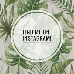 Let's be friends 🌿 Come find me on Instagram!